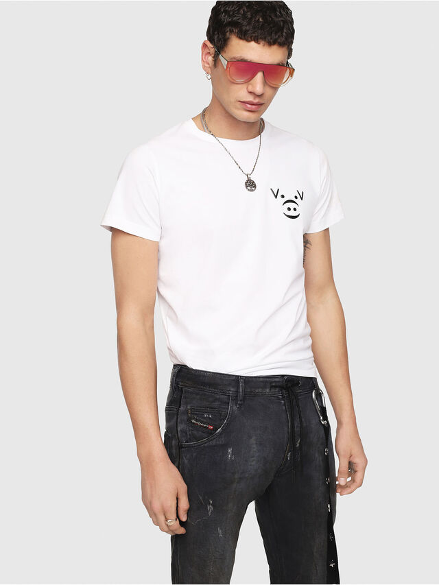 Diesel - Krooley JoggJeans 069IA, Nero Jeans - Jeans - Image 4