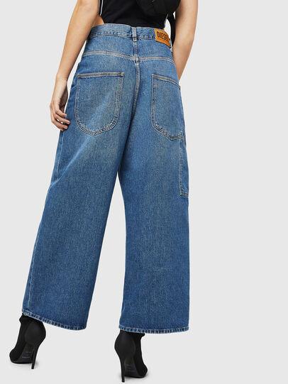 Diesel - D-Luite 080AN, Blu medio - Jeans - Image 2