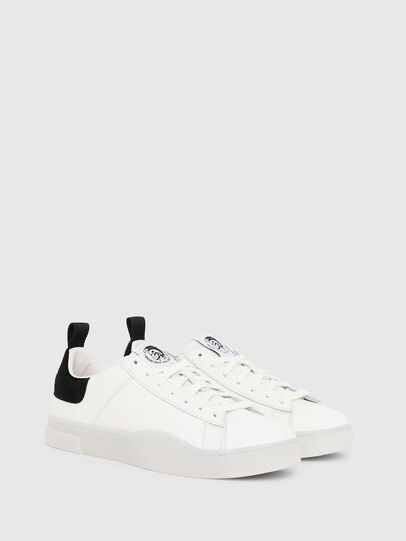 Diesel - S-CLEVER LOW LACE, Bianco/Nero - Sneakers - Image 2