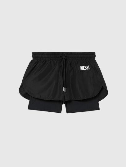 Diesel - UFLB-FAUSTIN-HIGH, Nero - Pantaloni - Image 1