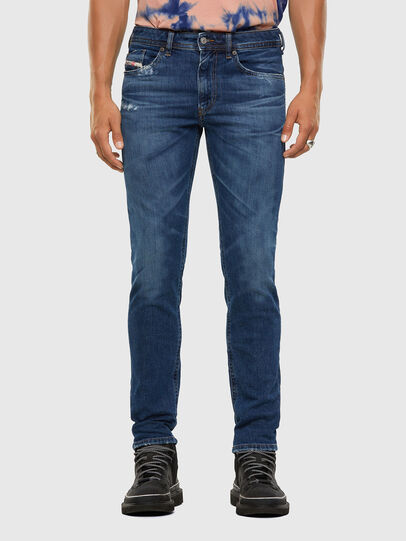 Diesel - Thommer 009DE, Blu Scuro - Jeans - Image 1