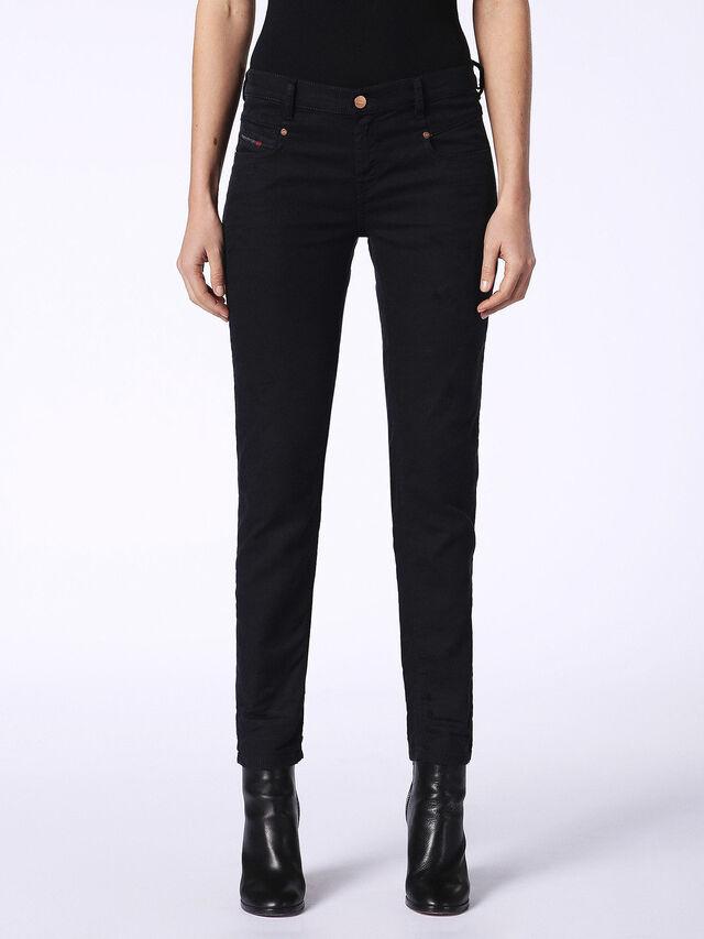 BELTHY JOGGJEANS 0689C, Nero Jeans