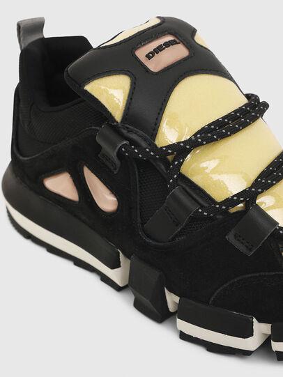 Diesel - H-PADOLA SL W, Nero/Giallo - Sneakers - Image 5