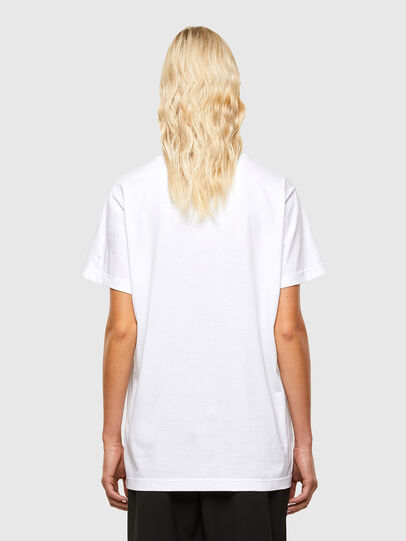 Diesel - T-DARIA-R1, Bianco - T-Shirts - Image 2