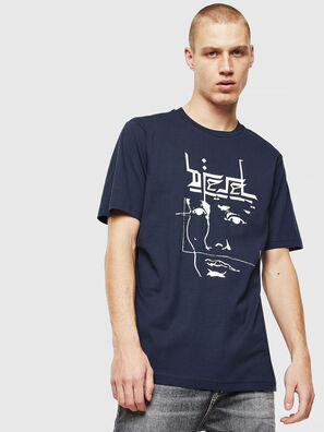 T-JUST-J14, Blu/Bianco - T-Shirts