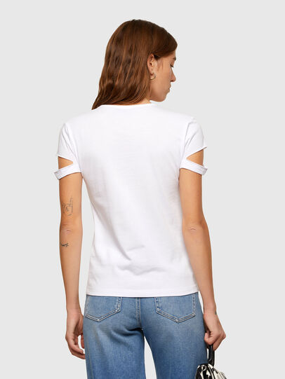 Diesel - T-BULLOCK-A2, Bianco - T-Shirts - Image 2