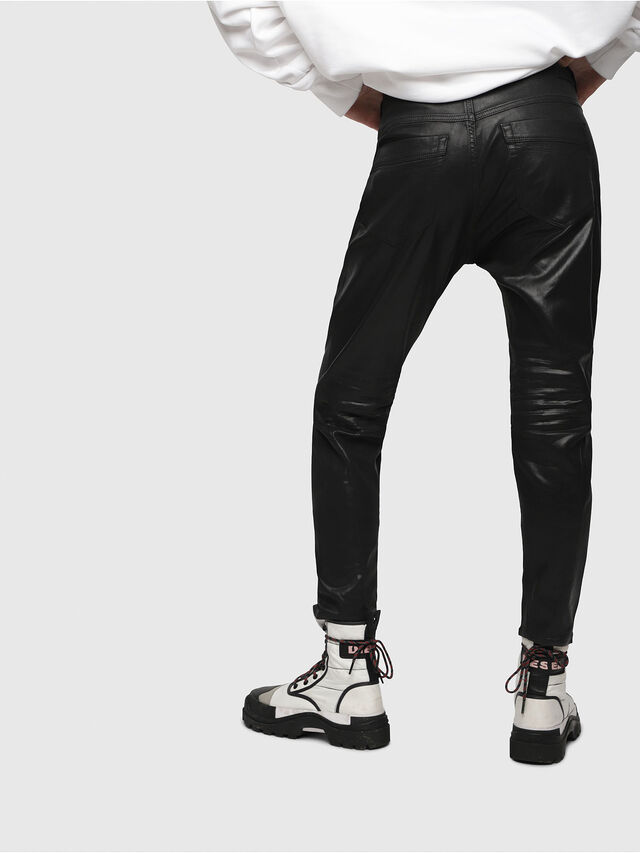 Diesel - Fayza JoggJeans 069DU, Nero/Grigio scuro - Jeans - Image 2