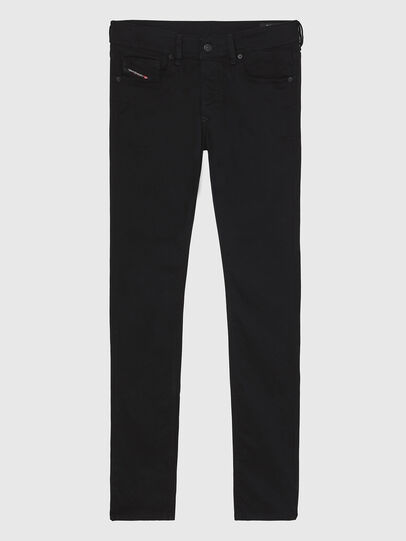 Diesel - Sleenker A69EI, Nero/Grigio scuro - Jeans - Image 1