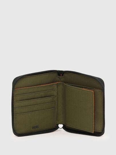 Diesel - PI-ZIP, Verde Camo - Portafogli Con Zip - Image 3