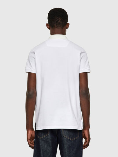 Diesel - T-MILES-NEW, Bianco - Polo - Image 2