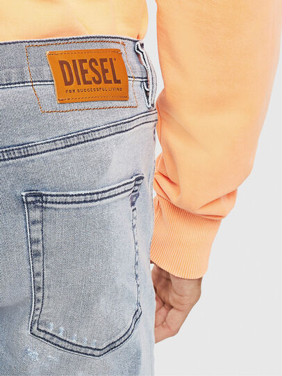 Diesel - D-Strukt 009BP, Blu Chiaro - Jeans - Image 6