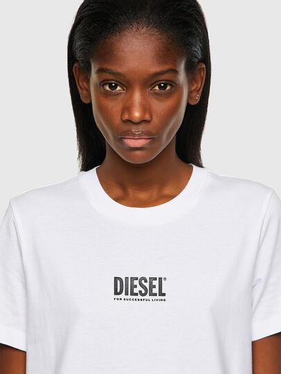 Diesel - T-SILY-ECOSMALLOGO, Bianco - T-Shirts - Image 3