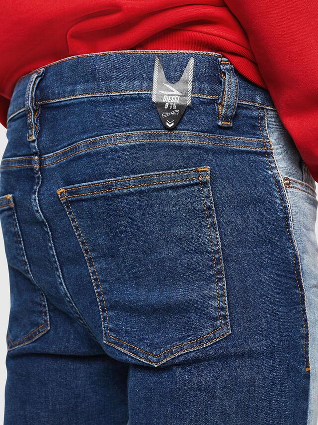 Diesel - D-Istort 085AU, Blu medio - Jeans - Image 4