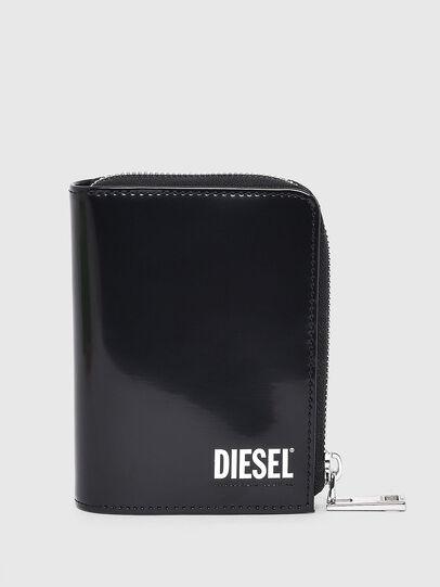 Diesel - L-12 ZIP, Nero - Portafogli Con Zip - Image 1