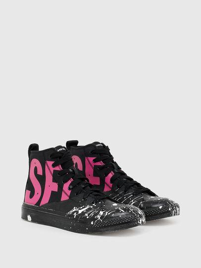 Diesel - S-ASTICO MC W, Nero/Rosa - Sneakers - Image 2