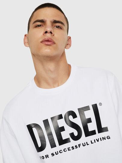 Diesel - S-GIR-DIVISION-LOGO, Bianco - Felpe - Image 5