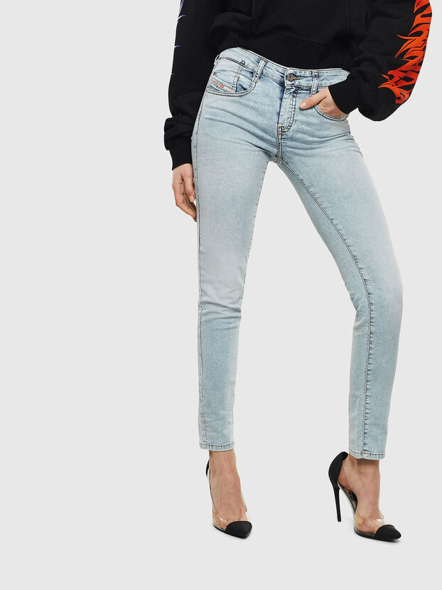 D-Ollies JoggJeans 069LL, Blu Chiaro - Jeans