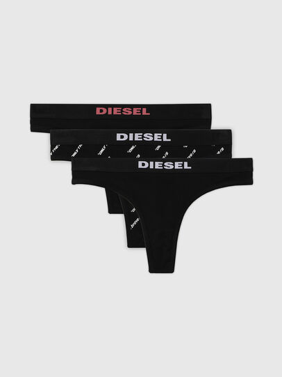 Diesel - UFST-STARS-THREEPACK, Nero - Perizomi - Image 1