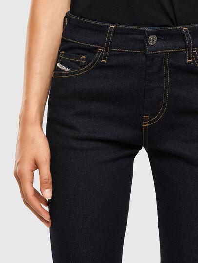 Diesel - Slandy 009CW, Blu Scuro - Jeans - Image 4