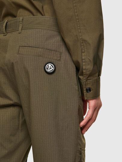 Diesel - P-SIDE, Verde Militare - Pantaloni - Image 4