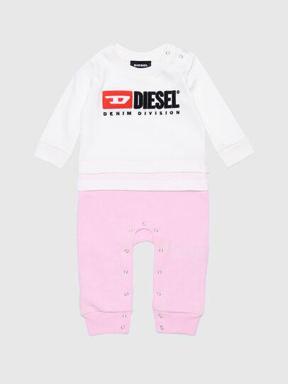 Diesel - JENGYDIV-NB, Bianco/Rosa - Tute e Salopette - Image 1