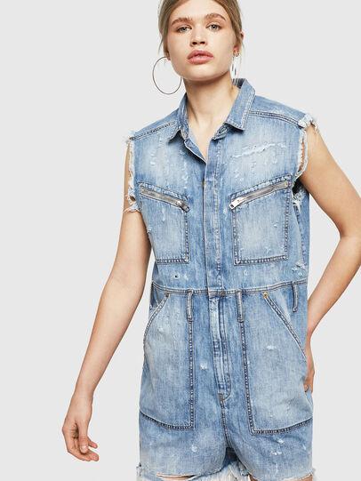 Diesel - DE-BETTE, Blu Jeans - Tute e Salopette - Image 1