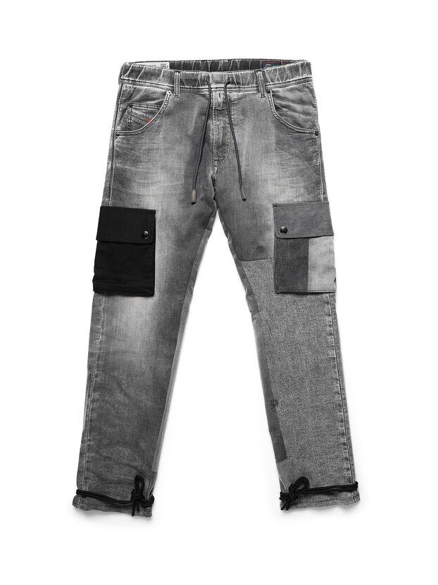 D-ARGO-JOGG, Nero/Grigio scuro - Pantaloni