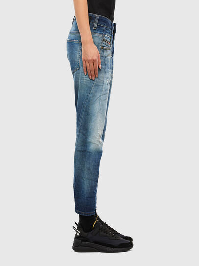 Diesel - Fayza 009LF, Blu medio - Jeans - Image 3