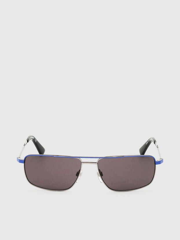 DL0308, Blu/Grigio - Occhiali da sole