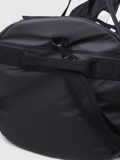 Diesel - F-BOLD DUFFLE XL, Nero/Bianco - Borse da viaggio - Image 4