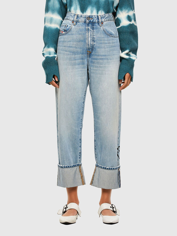 D-Reggy 009GZ, Blu Chiaro - Jeans