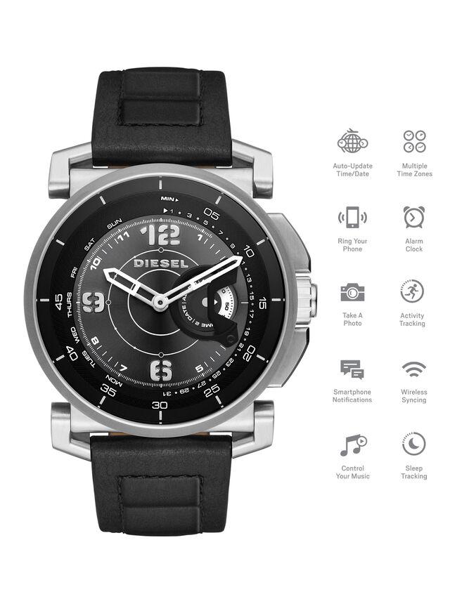 Diesel - DT1000, Nero - Smartwatches - Image 1