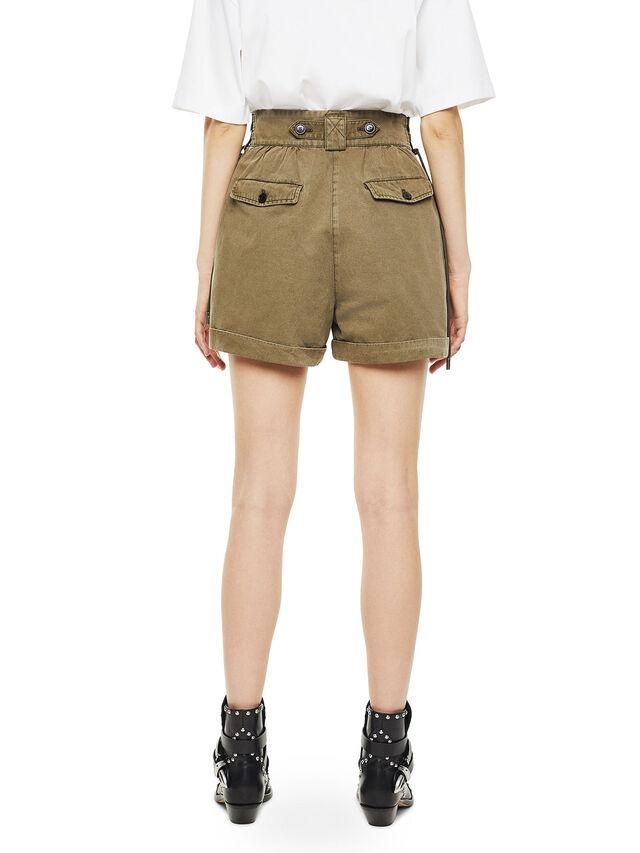 Diesel - SIMONY, Verde Militare - Shorts - Image 2