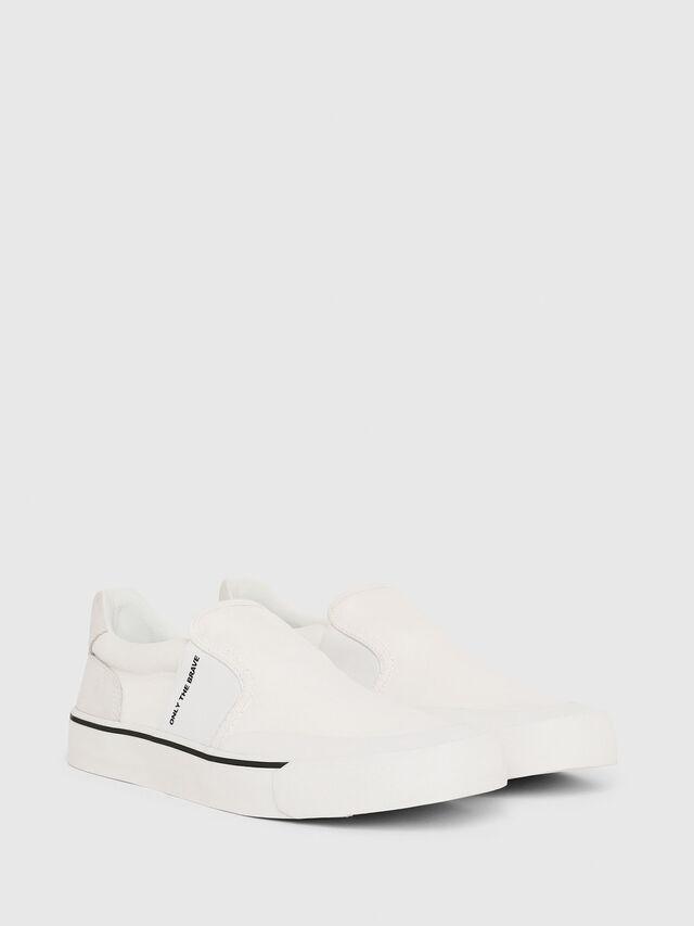 Diesel - S-FLIP SO, Bianco - Sneakers - Image 2
