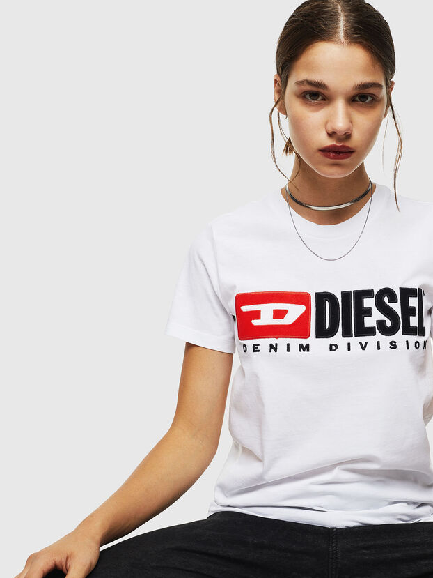 T-SILY-DIVISION, Bianco - T-Shirts