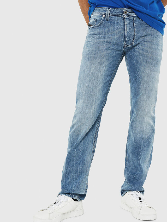 Diesel - Larkee 081AL, Blu Chiaro - Jeans - Image 1