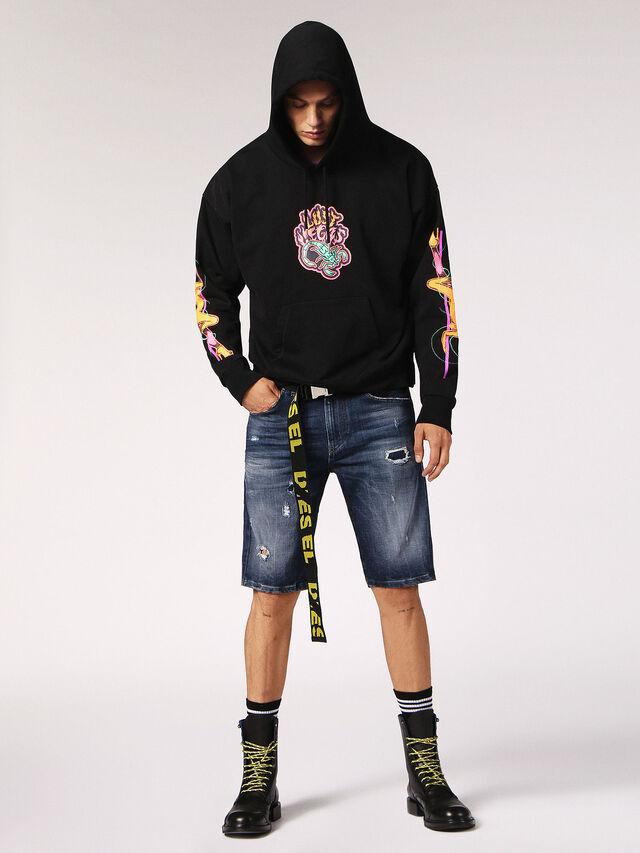 Diesel - THOSHORT, Blu Jeans - Shorts - Image 5