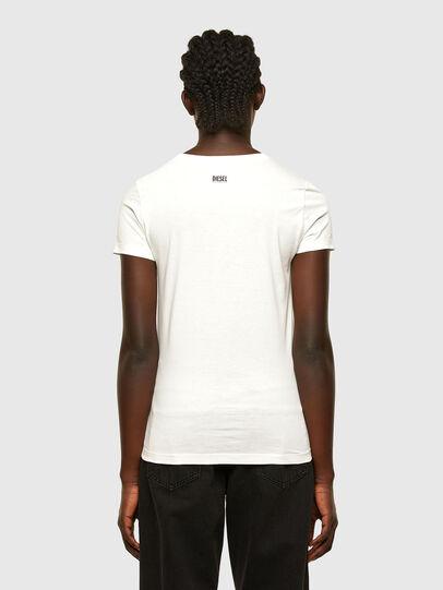 Diesel - T-SOAL-R1, Bianco - T-Shirts - Image 2
