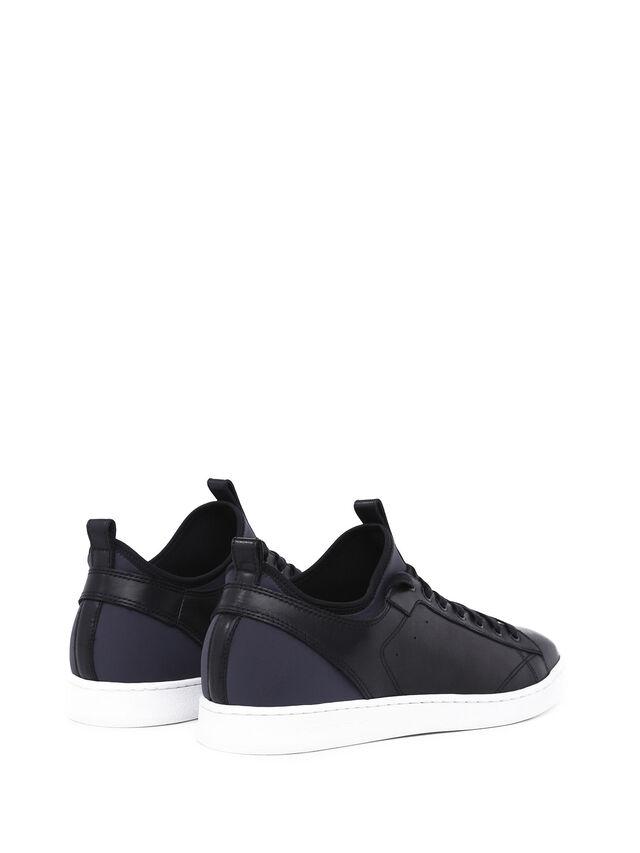 Diesel - S18ZERO, Blu Scuro - Sneakers - Image 3