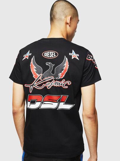 Diesel - ASTARS-T-DIEGO, Nero - T-Shirts - Image 2