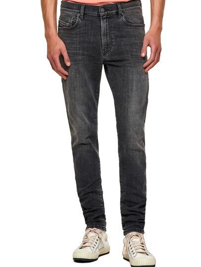 Diesel - D-Amny 09A18, Nero/Grigio scuro - Jeans - Image 1