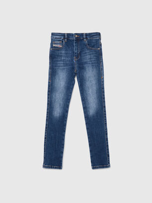 D-SLANDY-HIGH-J, Blu medio - Jeans