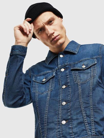 Diesel - NHILL JOGGJEANS, Blu Jeans - Giacche in denim - Image 3