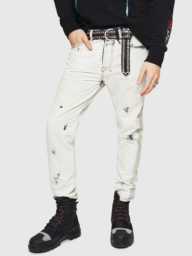 Diesel - Mharky 0890Q, Blu Chiaro - Jeans - Image 5