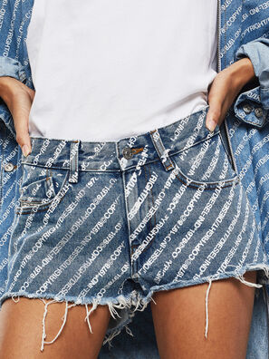 DE-RIFTY, Blu medio - Shorts