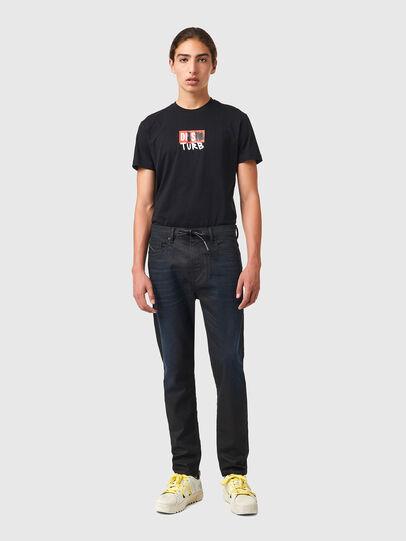 Diesel - D-VIDER JoggJeans® 069XN, Nero/Grigio scuro - Jeans - Image 5