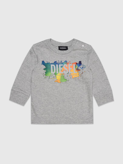 Diesel - TDOSKYB ML, Grigio - T-shirts e Tops - Image 1