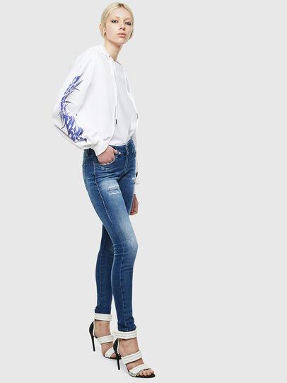 Diesel - Slandy 009IG, Blu medio - Jeans - Image 6