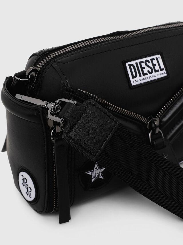 Diesel - LE-ZIPPER CROSSBODY, Nero - Borse a tracolla - Image 3