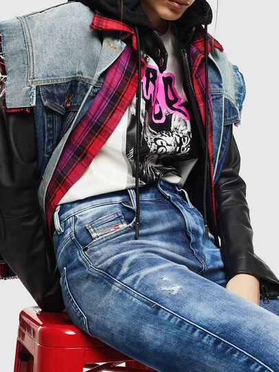Diesel - Slandy High 0096J, Blu medio - Jeans - Image 3
